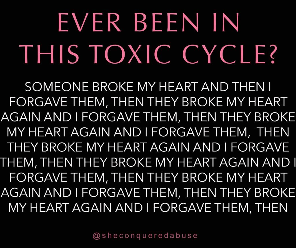 are you stuck in a toxic cycle